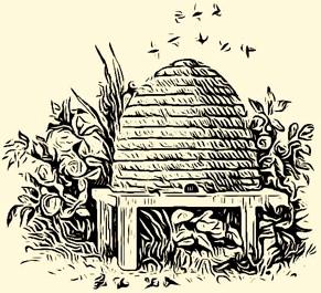 A Beehive or Skep